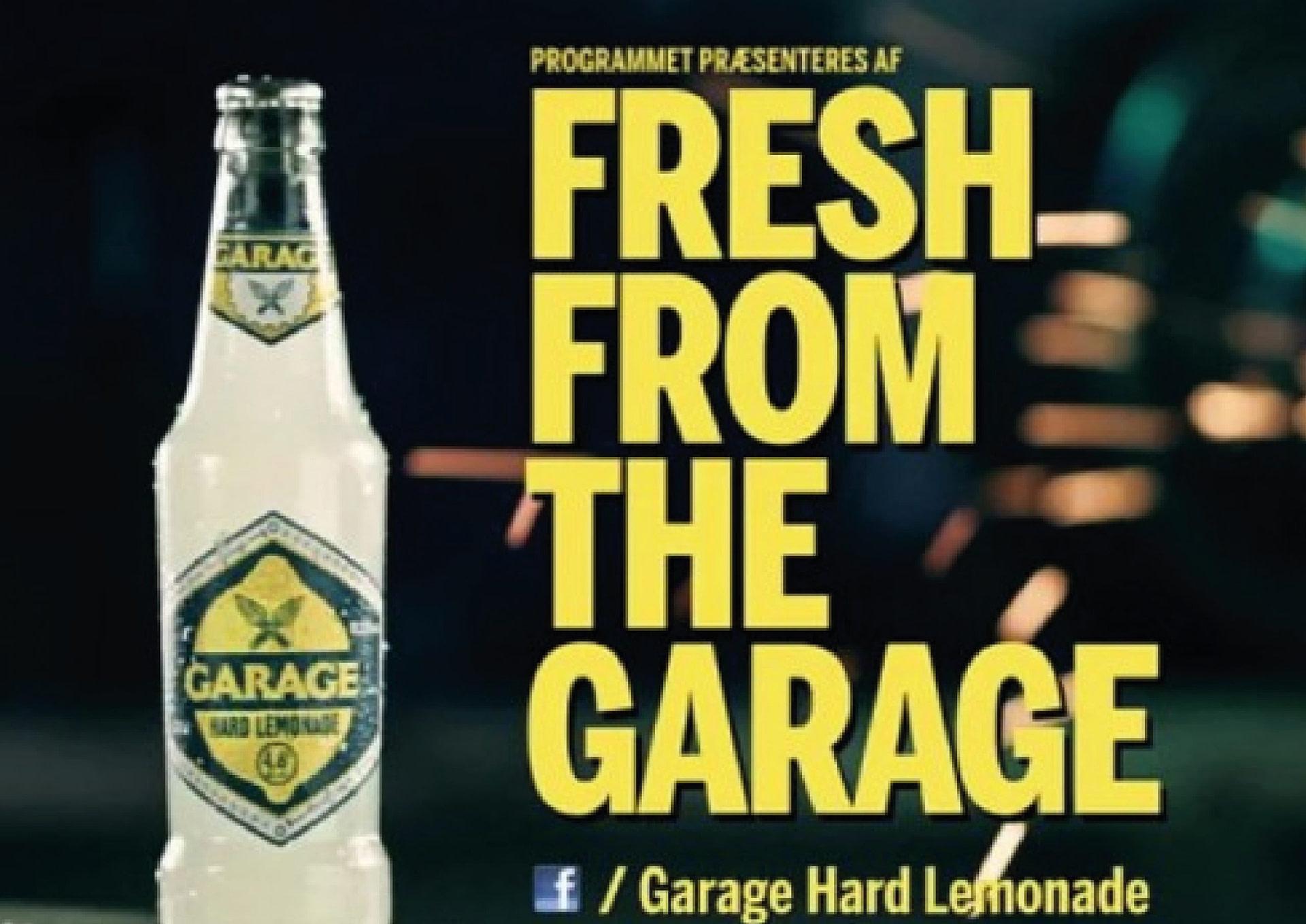 Garage Hard Lemonade from Carlsberg