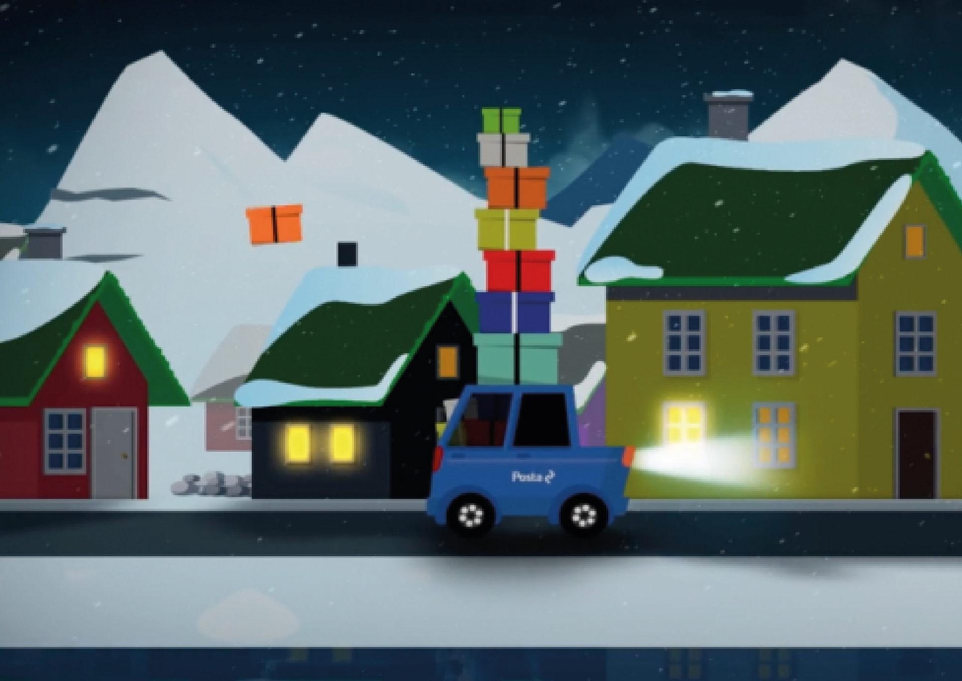 Skalkur og Posta animationsvideo