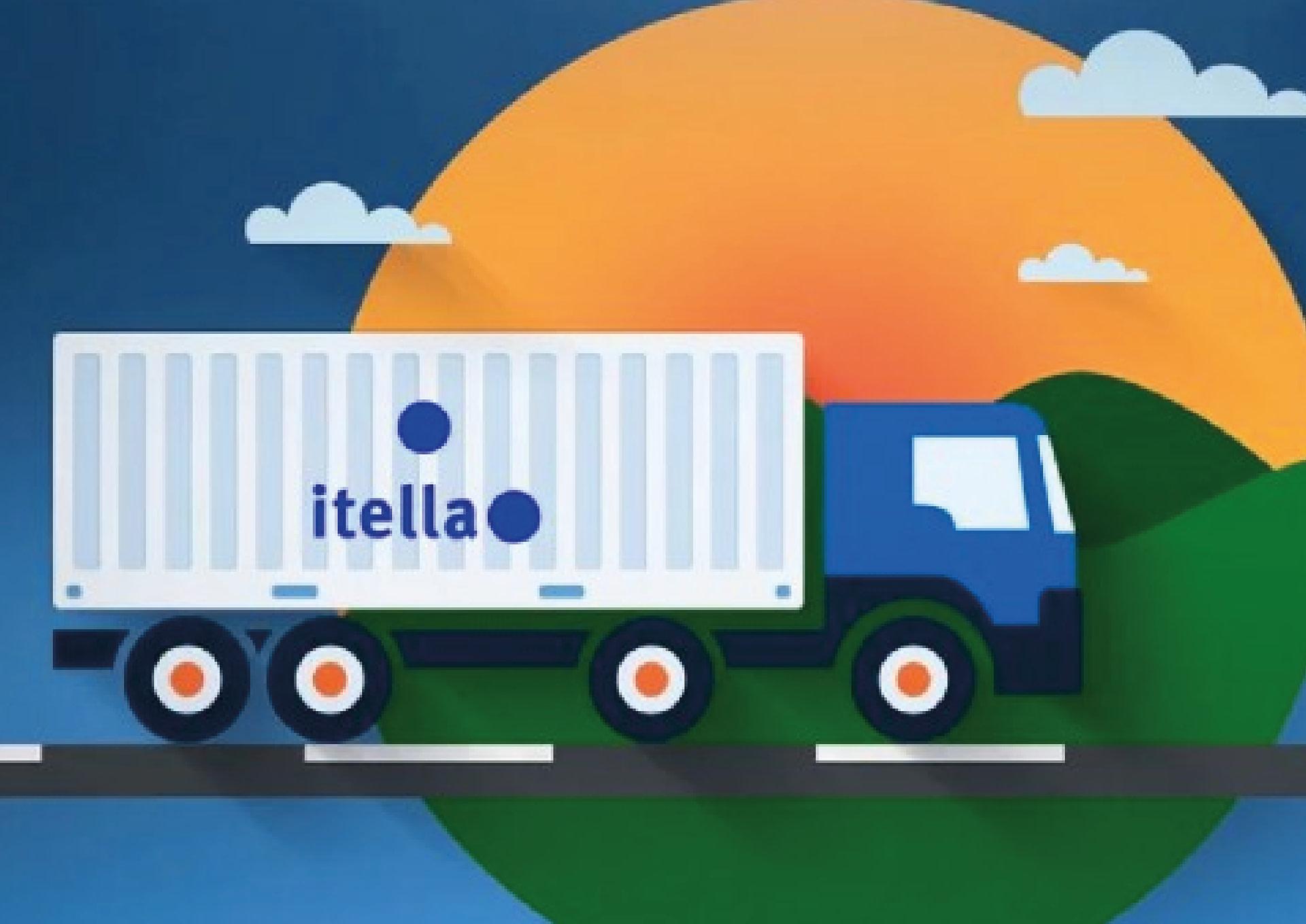 Itella Logistics animationsvideo